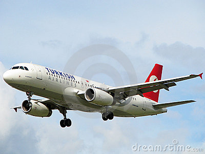 Turkish airlines aircraft Editorial Image
