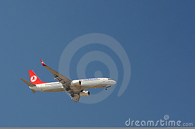 Turkish Airlines - Plane Editorial Photography