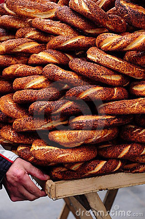Turkish bagel