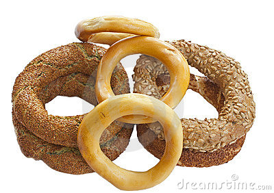 Turkish bagels
