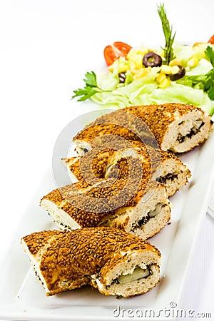 Turkish Bagels simit