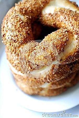Turkish Bagels (Simit)