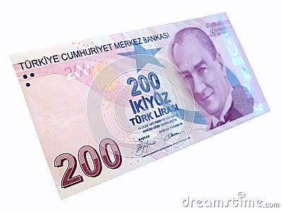 Turkish banknot