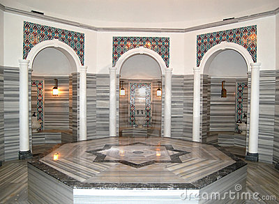 Turkish bath (Hamam) at hotel s spa