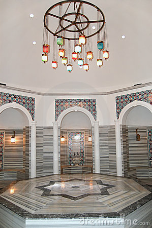 Turkish bath (Hamam) at hotel s spa
