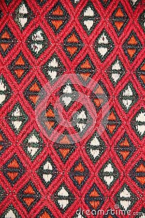 Turkish carpet pattern