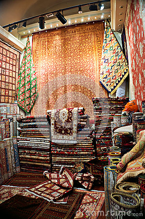Turkish Carpet Shop Stock Photo Image 42559441