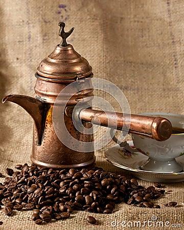 Free Turkish Coffee Pot Stock Images - 8089274