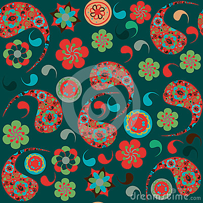 Turkish cucumber  seamless pattern and seamless pa