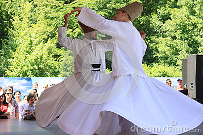 Whirling Dervish Editorial Photography