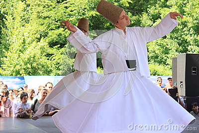 Whirling Dervish Editorial Stock Photo