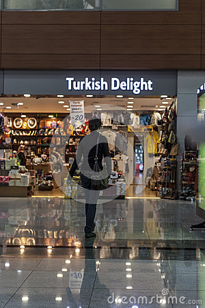 Turkish delight Editorial Photo