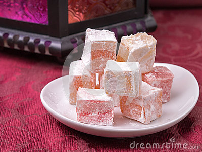 Turkish Delight Confection