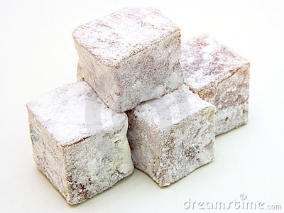 Turkish delight (lokum) confection