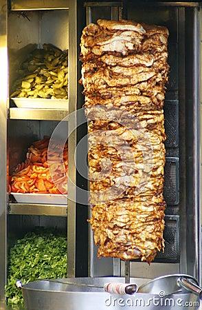 Free Turkish Doner Kebab Stock Photos - 4043723