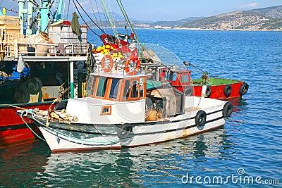 Turkish Fishing Boats