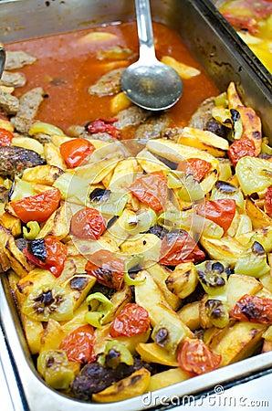 Turkish food - Izmir Meatballs