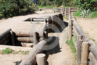 Turkish infantry trenches, Canakkale