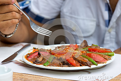 Turkish Iskender Doner