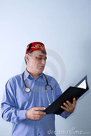 Turkish-Islamic doctor