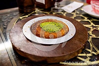 Turkish Kanafeh