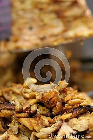 Turkish kebab barbecued meat