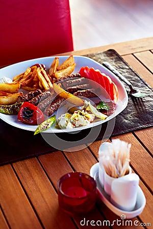 Turkish Kofte (Meatballs)