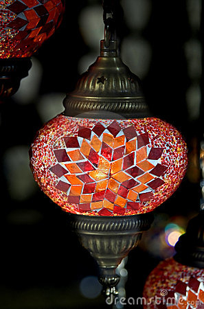 Turkish lamp 1
