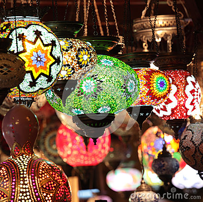 Turkish Lamps Stock Photography - Image: 27181762