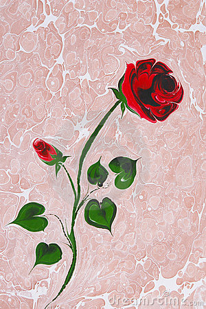Turkish Marbled paper artwork background