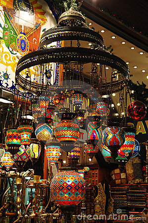 Turkish Marketplace: Chandelier