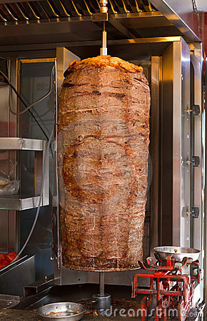 Turkish meat doner kebab