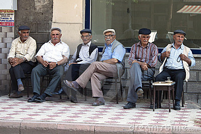 Turkish men Editorial Photography
