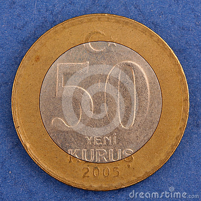 Turkish metal coin