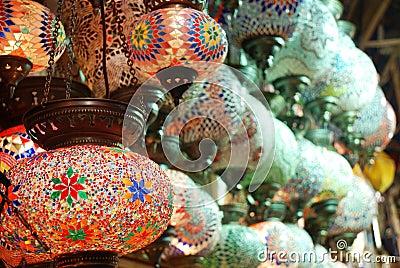 TURKISH ORIENTAL LAMP