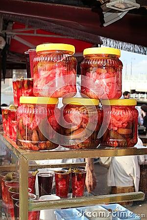 Turkish pickles