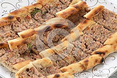 Turkish pizza