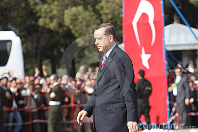 Turkish Prime Minister Editorial Photo