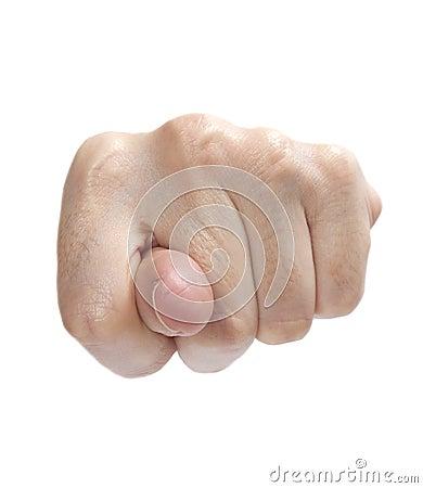Turkish provoking finger sign