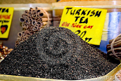 Turkish raw tea