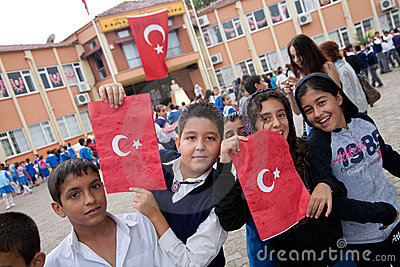 Turkish Republic Day Editorial Image