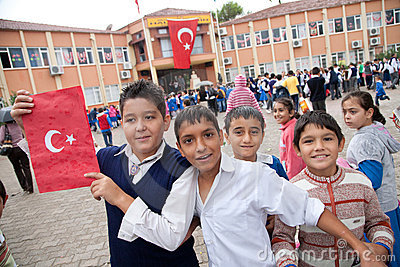 Turkish Republic Day Editorial Stock Image
