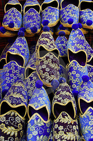 Free Turkish Shoes On Sale Royalty Free Stock Photos - 2383188