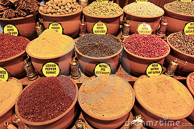Turkish Spices at the Grand Bazaar