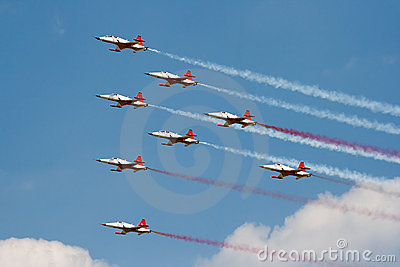 Turkish Stars airshow Editorial Photography