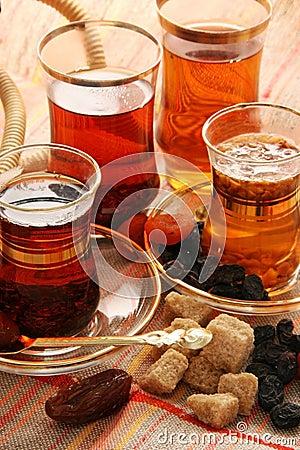 Free Turkish Tea. Royalty Free Stock Image - 1828346