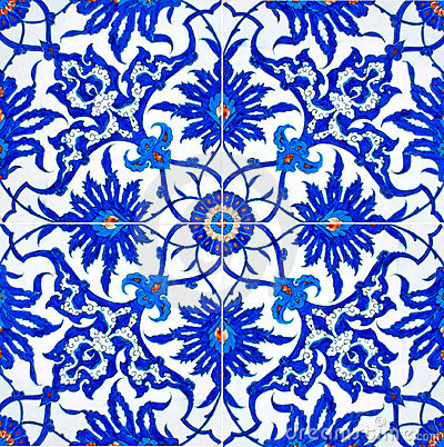 Free Turkish Tiles Stock Images - 4245444