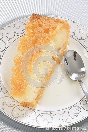 Turkish traditional bread dessert