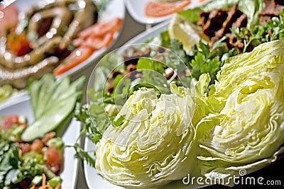 Turkish traditional dinner