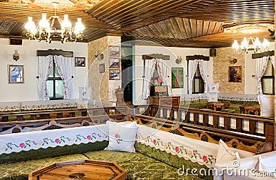 Traditional turkish home design